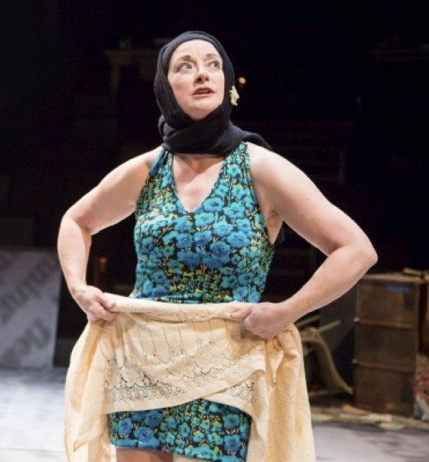 Patti Cohenour As Little Edie in Grey Gardens